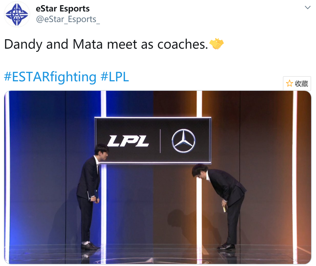 ES更推:Dandy和Mata作为教练的再会