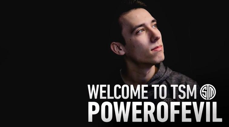 TSM官宣:中单PowerOfEvil加入!