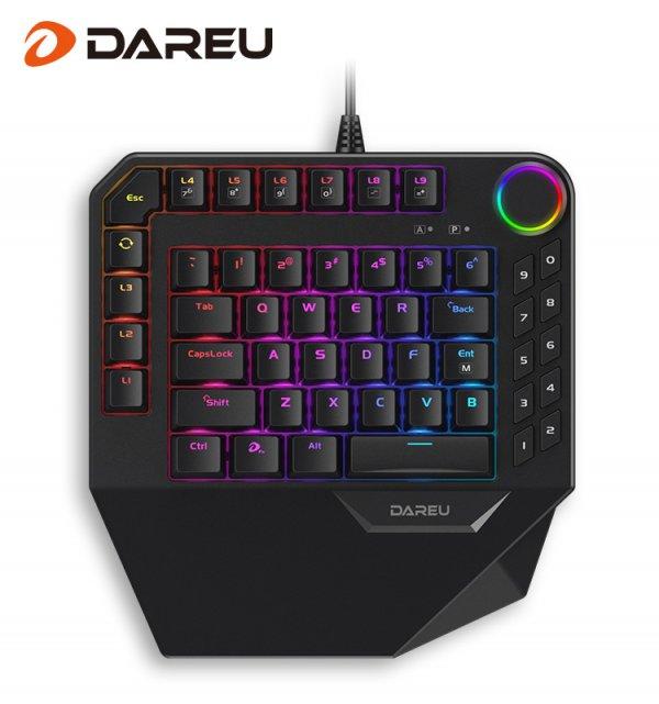 随时随地陪你战斗 达尔优发布EK828 RGB单手机械键盘