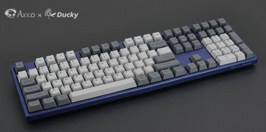 Last One!Akko发布Ducky One最终版银轴机械键盘