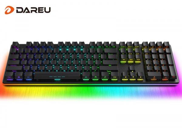 让胜利的光芒肆虐黑暗 达尔优发布EK925 RGB机械键盘