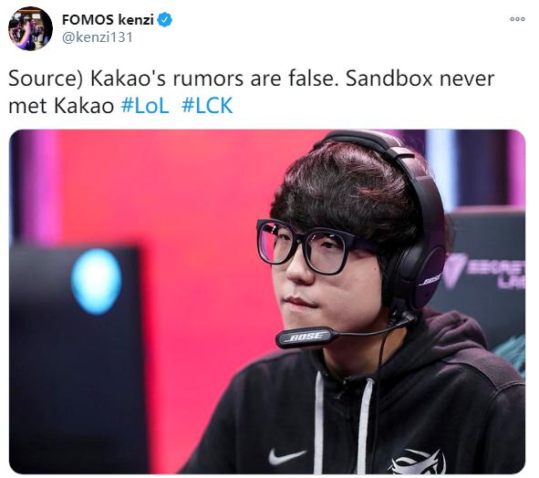 Sandbox从来都没有联系Kakao