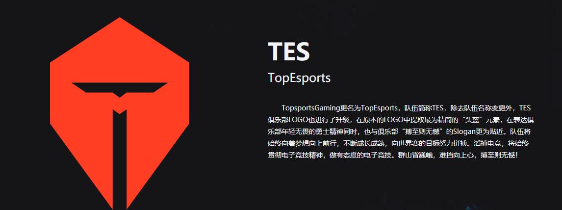 季后赛队伍选手及阵容分析(TES篇)